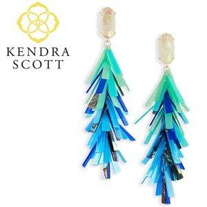 Kendra Scott Justyne Earring Blue
